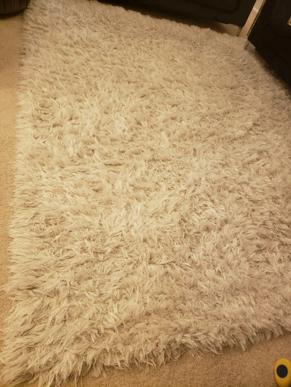 Big size area rug. (SHAG). Looks new Not any stain