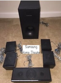 Samsung home theaters speakers system surround sound.