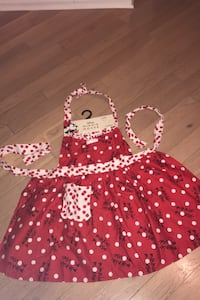 Disney Minnie Mouse apron **NEW**