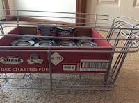 4 chafing holders and gel fuel Virginia Beach, 23454