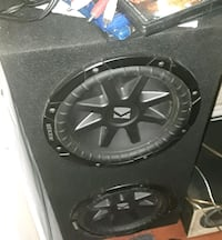 black Kicker subwoofer with enclosure South Gate, 90280