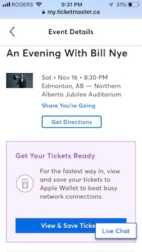 Bill Nye the Science Guy Tickets