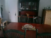 brown wooden dining table set Montreal, H1B 5N9