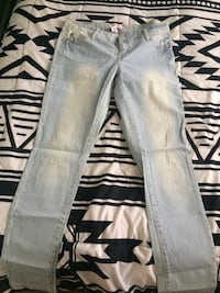 gray denim straight cut jeans Winnipeg, R2W 1K9