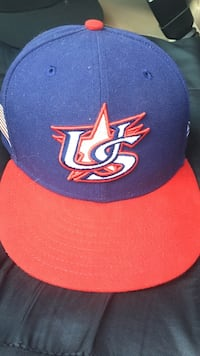 Team USA WBC 7-1/8 fitted cap