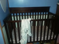 Crib with mattress and mesh liner  Dover, 19901