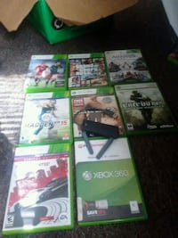 Xbox 360 games 5 dollars each or 40 for all Pearl River, 70452
