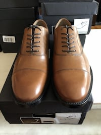 Kevin Italian Leather Cap - Toe Oxford 7 Arlington