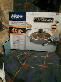 Oster 12 inches electric skillet  Lindsay