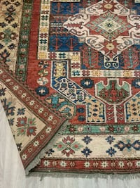 red, white, and blue floral area rug Coquitlam, V3B 7A1