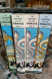 History of comic 4 volume vhs.  [TL_HIDDEN] 0 1641