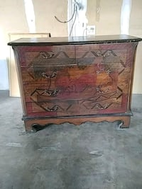 Hand crafted and painted desk drawer Temple, 76504