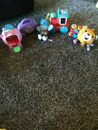 assorted-color plastic toy lot Oconto, 68860