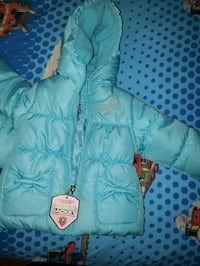 blue puffy winter jackets