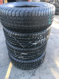 Set 245/65 R17 GOODYEAR FORTERA HL used 95% life $300 includes professional installation and tax. Santa Fe Springs, 90670