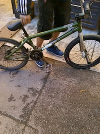 green and black BMX bike Vancouver, V6A 1N4