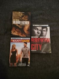 four assorted DVD movie cases Syracuse, 46567