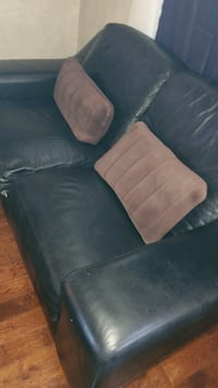 Free.. 2 piece leather sofa