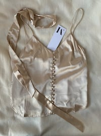 BNWT Le Manoir Gold Tank Top - Small Mississauga, L5M 7K4