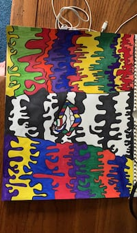 """The """"colors of life"""" drawing"""