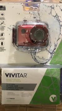 red Vivitar action camera pack Waterloo, N2K 3R3