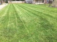 Lawn mowing grass cutting edging West Chester