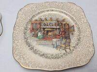 Englishman's Fireside Display Plate Courtice