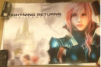 Brand New Final Fantasy XIII Lightning Returns Posters Set of 2 Richmond
