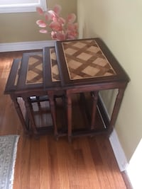 Moving sale- Beautiful set of 4 nesting tables for sale!  Mississauga, L5V 2J4