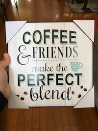 coffee and Friends make the perfect blend wall decor Manteca, 95337