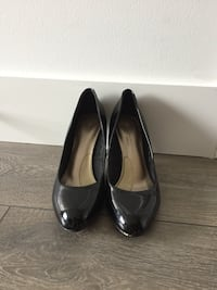 Black patent heels from M&S. Size 7