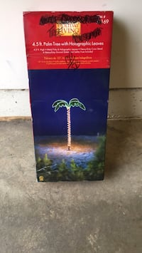 4.5 ft Palm Tree with Holographic leaves Frederick, 21701