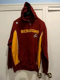 Redskin hoodie with logo team colors. Great Mills, 20653