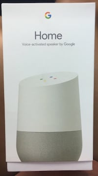 white Google Home voice-activated speaker box Hialeah, 33016