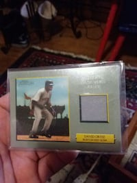 Rare turkey red game worn relic2006 Fall River, 02723