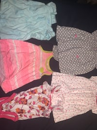 12 month girls clothes-5 pieces