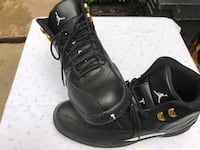 Pair of black air jordan 12' Falls Church, 22042