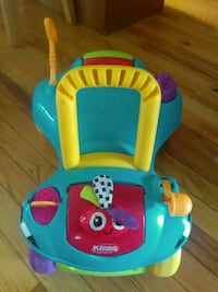 toddler's blue and multicolored Playskool ride-on  Harrison charter Township, 48045