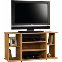 Beginnings Tv Stand, Highland Oak, #412995 2263 mi