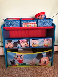 Mickey Mouse clubhouse toy box storage