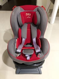 Baby's red and gray car seat Yishun