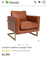London Leather Lounge Chairs (2 available for $900 each) Portland, 97206