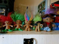trolls character figurine collection
