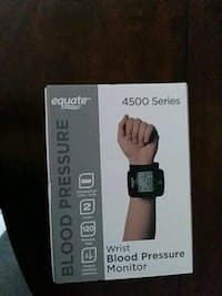 Equate wrist blood pressure monitor. NIB! unopened.  Paterson, 07501