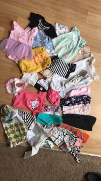 toddler's assorted clothes 164 mi