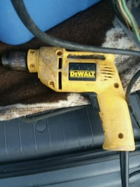 yellow and black DEWALT corded power drill Forestville, 20747