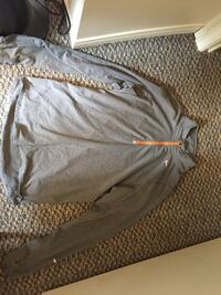 Grey and orange Nike dry fit long sleeve Newmarket, L3Y 8L5