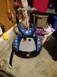 black, gray , and blue plastic booster seat Newport News, 23602