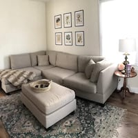 New sectional sofa with ottoman  Silver Spring, 20902