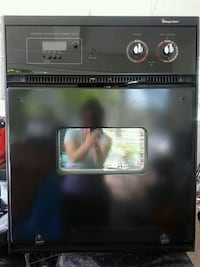 Black Built In Electric Oven  Fordoche, 70732